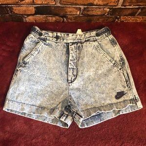 Vintage Nike Denim Shorts
